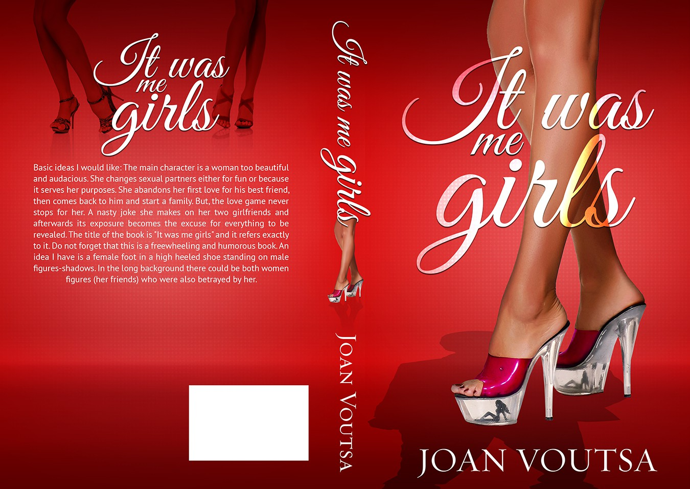 book or magazine cover for It was me girls