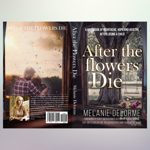 "Book Cover Concept for ""After the flowers die"""