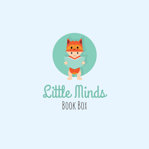 Little minds book box logo