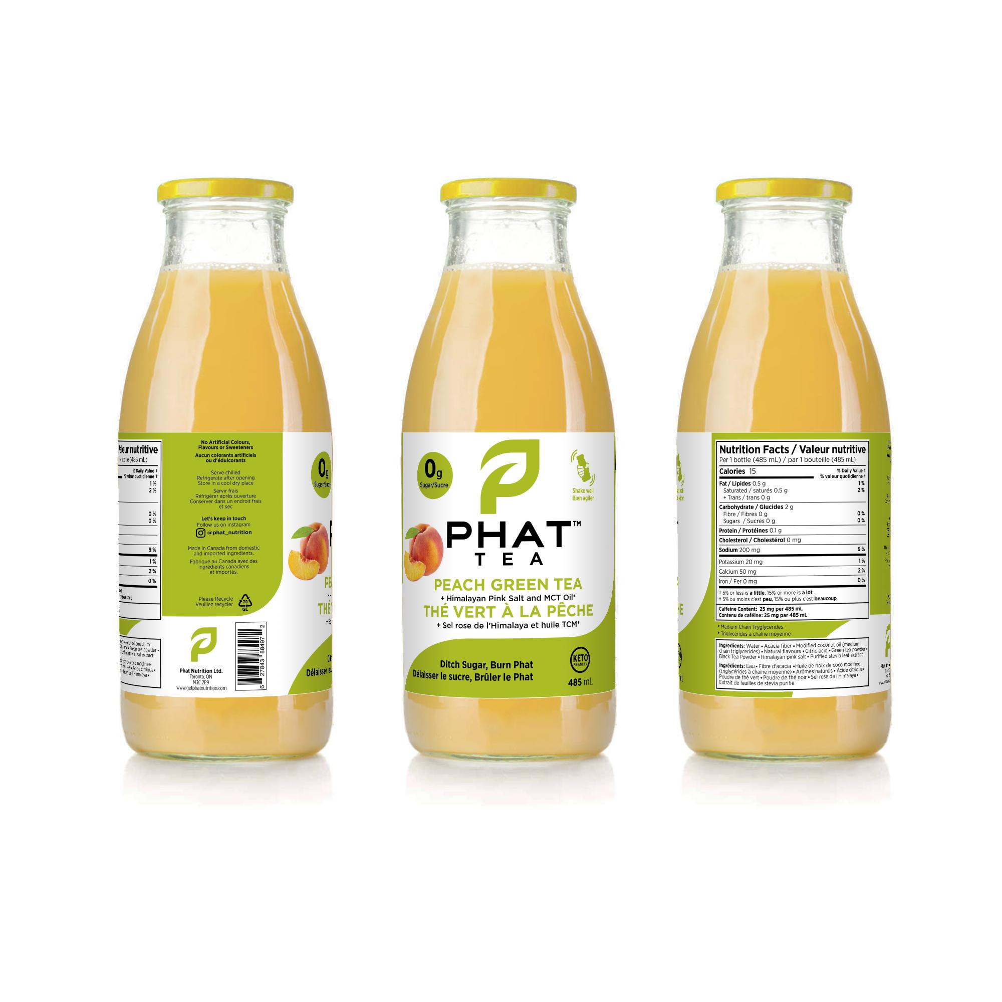 Phat Tea Shrink Sleeve