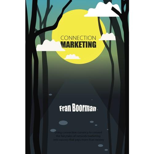 Modern illustration for book cover