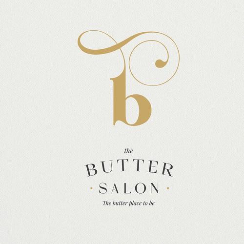 """Butter salon"" logo proposal"