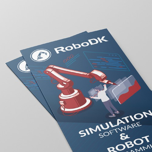 RoboDK Trifold brochure