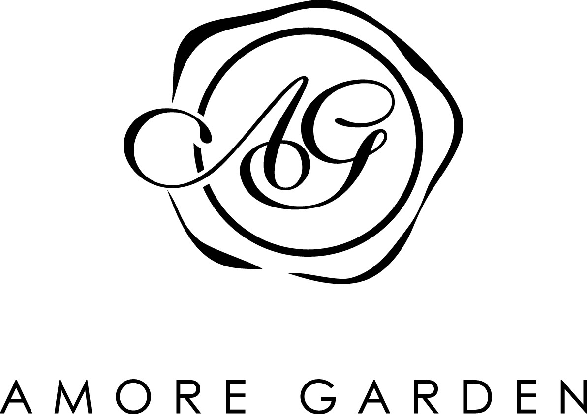 Create a capturing high end florist/lifestyle brand logo for Amore Garden