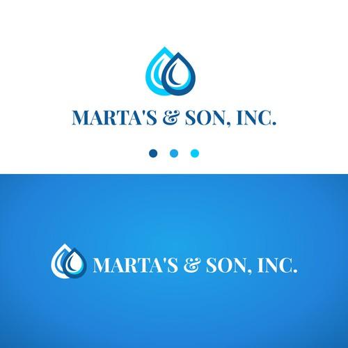 Logo Concept for Marta's & Son. Inc.