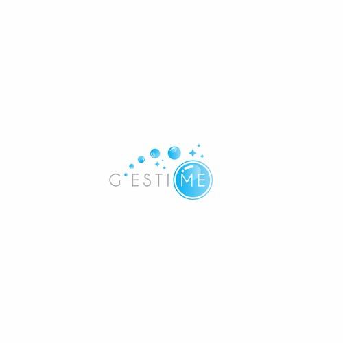 Bubble clean logo