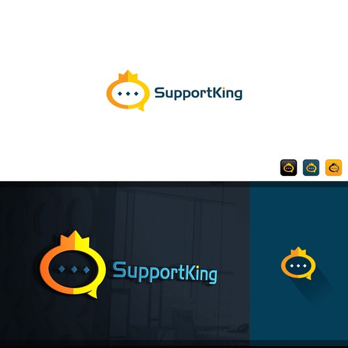 SUPPORT KING LOGO