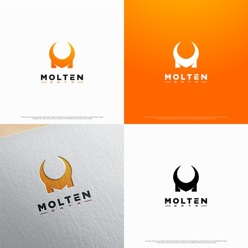 Bold logo for Moltern