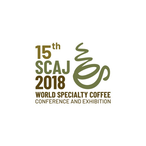Logo for an annual coffee conference in Japan