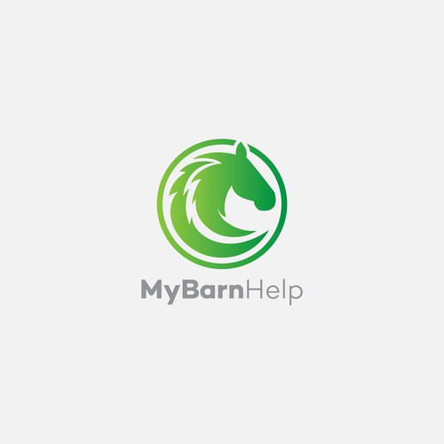 Horse Logo Concept for Animal Industry