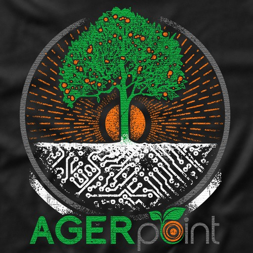 Technological Growing 'Tree' T-shirt