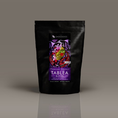 Label design for Chocoloco