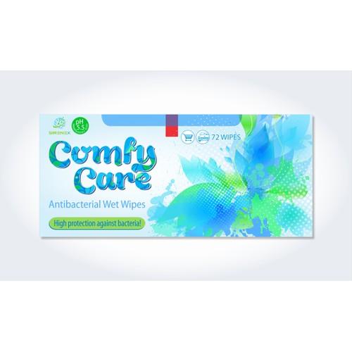 Sirenex Ltd: ComfyCare Antibacterial Wetwipes