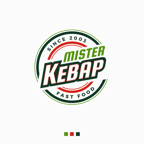 Mister Kebab Logo Design