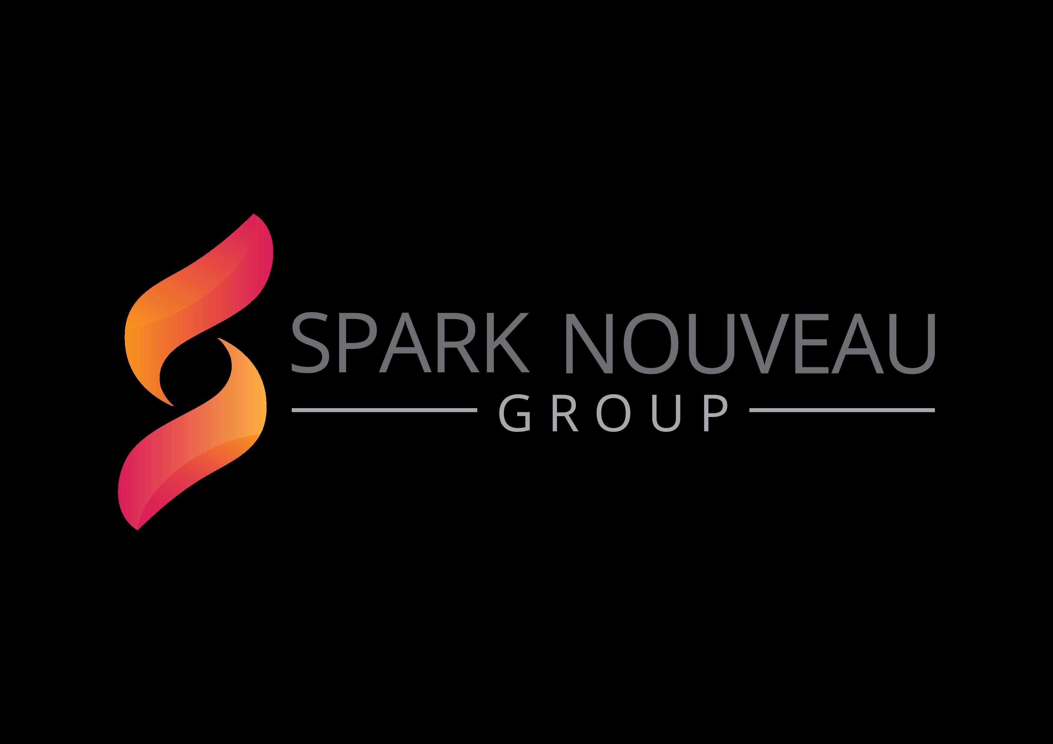 "Create an inspiring version of ""spark"" for Spark Nouveau logo"