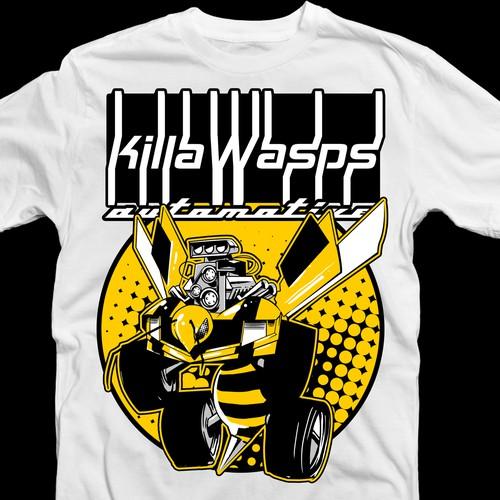 Killawasps T-Shirt Design