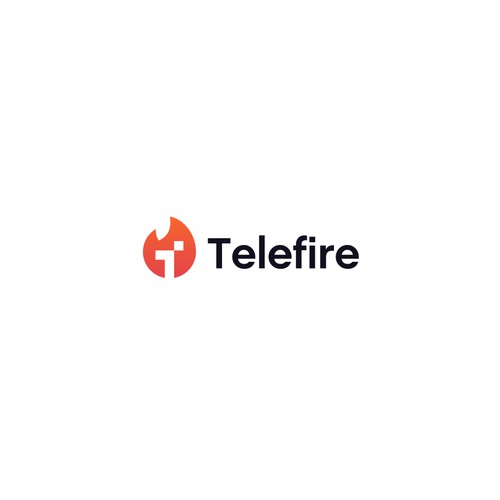 Create a bold, simple logo for Telefire, a new TV advertising app