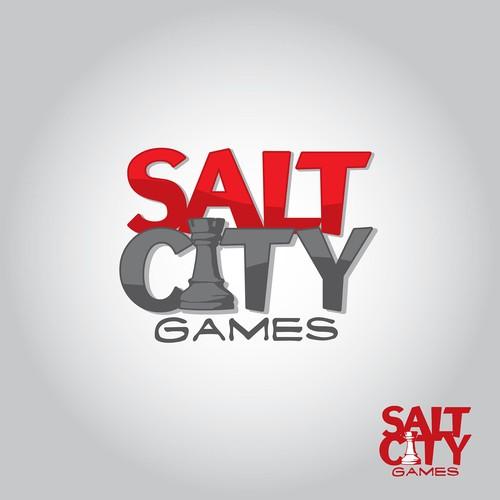 Salt City Games Logo Concept