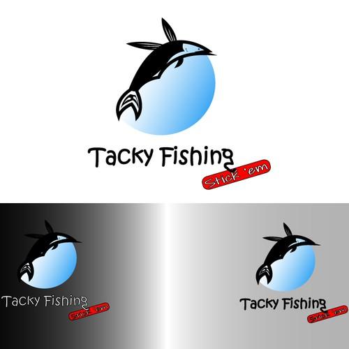 logo for Tacky Fishing