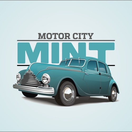Logo for Motor city Mint