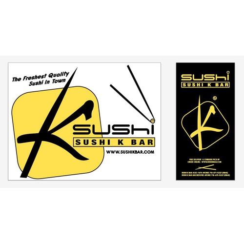 packaging for Sushi K Bar