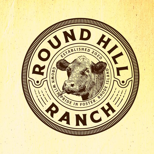 Round Hill Ranch logo