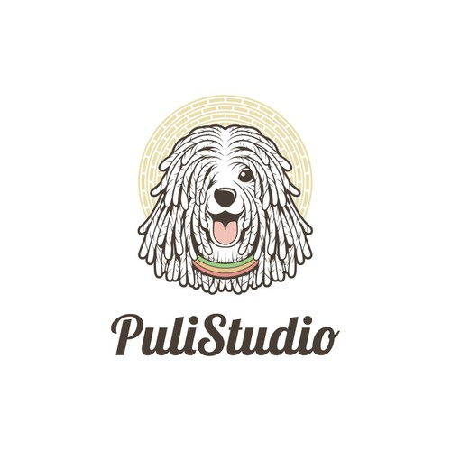 Classic Yet Fun Logo for PuliStudio