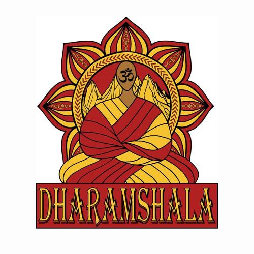 T-shirt design for Dharamshala