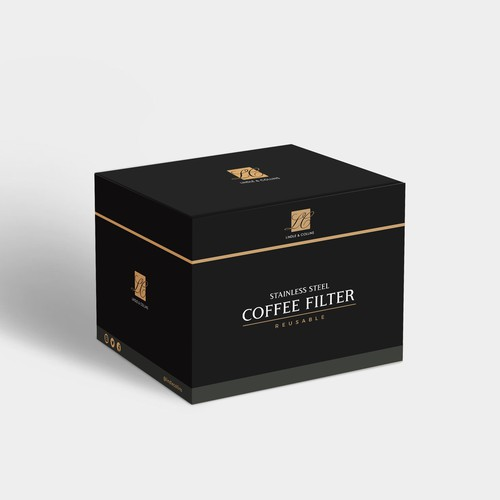 Lindle&Collins Coffee Filter box design