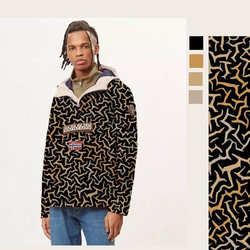 Seamless jacket pattern