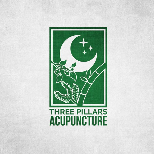 Natural logo for Acupuncture business