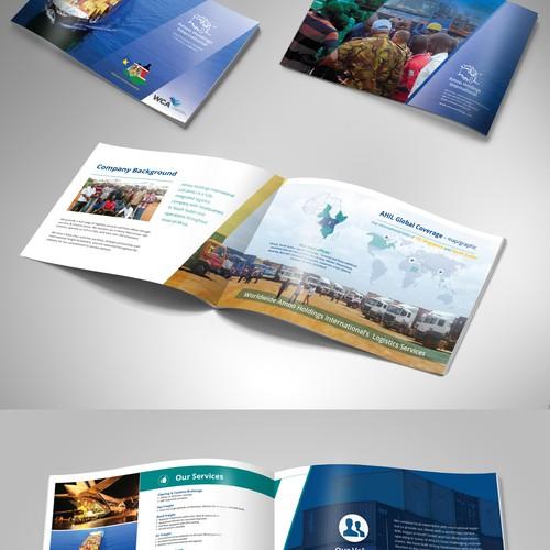 Create a brochure/company profile for an East African Logistics Company