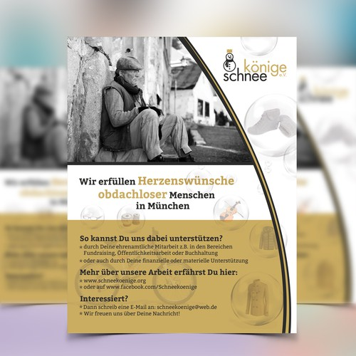 Flyer Design for konig schnee
