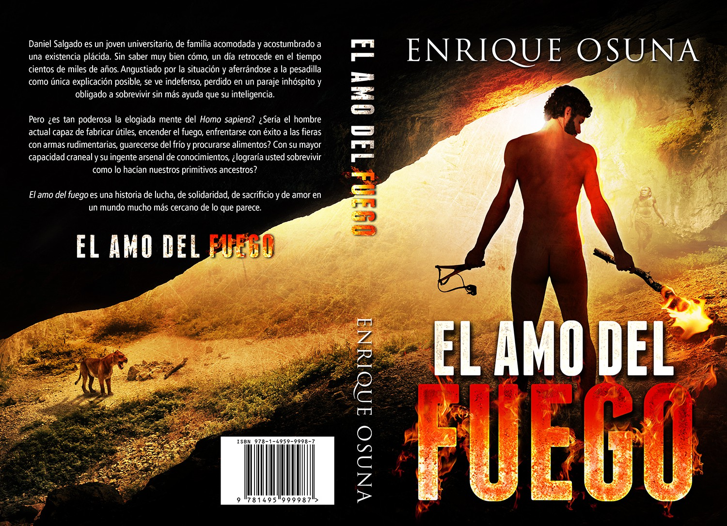 Cover for book. Most of the action takes place in prehistory.