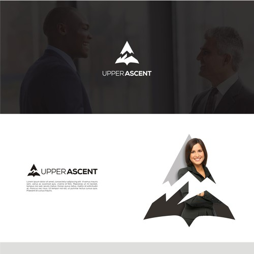 Minimalist logo for Upper Ascent