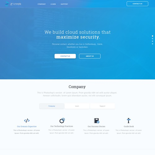Cloud software development company