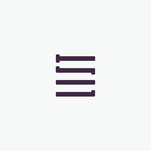 Sleek and chich fashion website logo