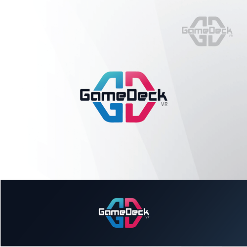 Logo concept for GameDeck VR