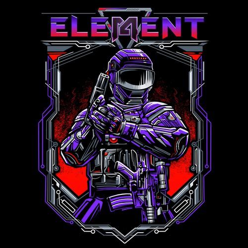 Element 14 tshirt design