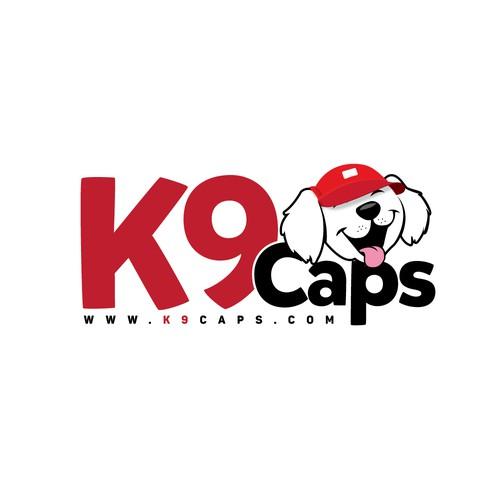 Logo design for dog caps