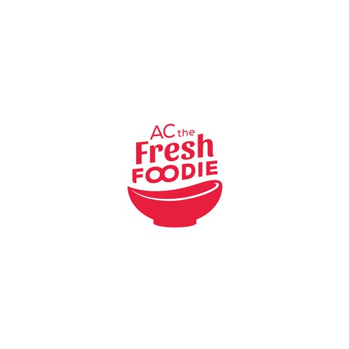 Logo concept for foodie youtube channel and instagram page
