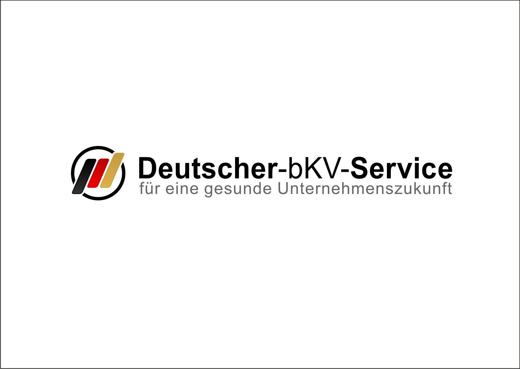 Logo und V-Karte für betriebliche Krankenversicherung