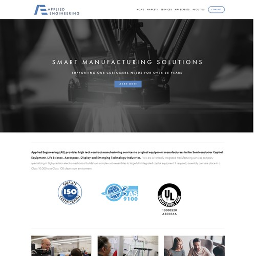 Applied Engineering Website