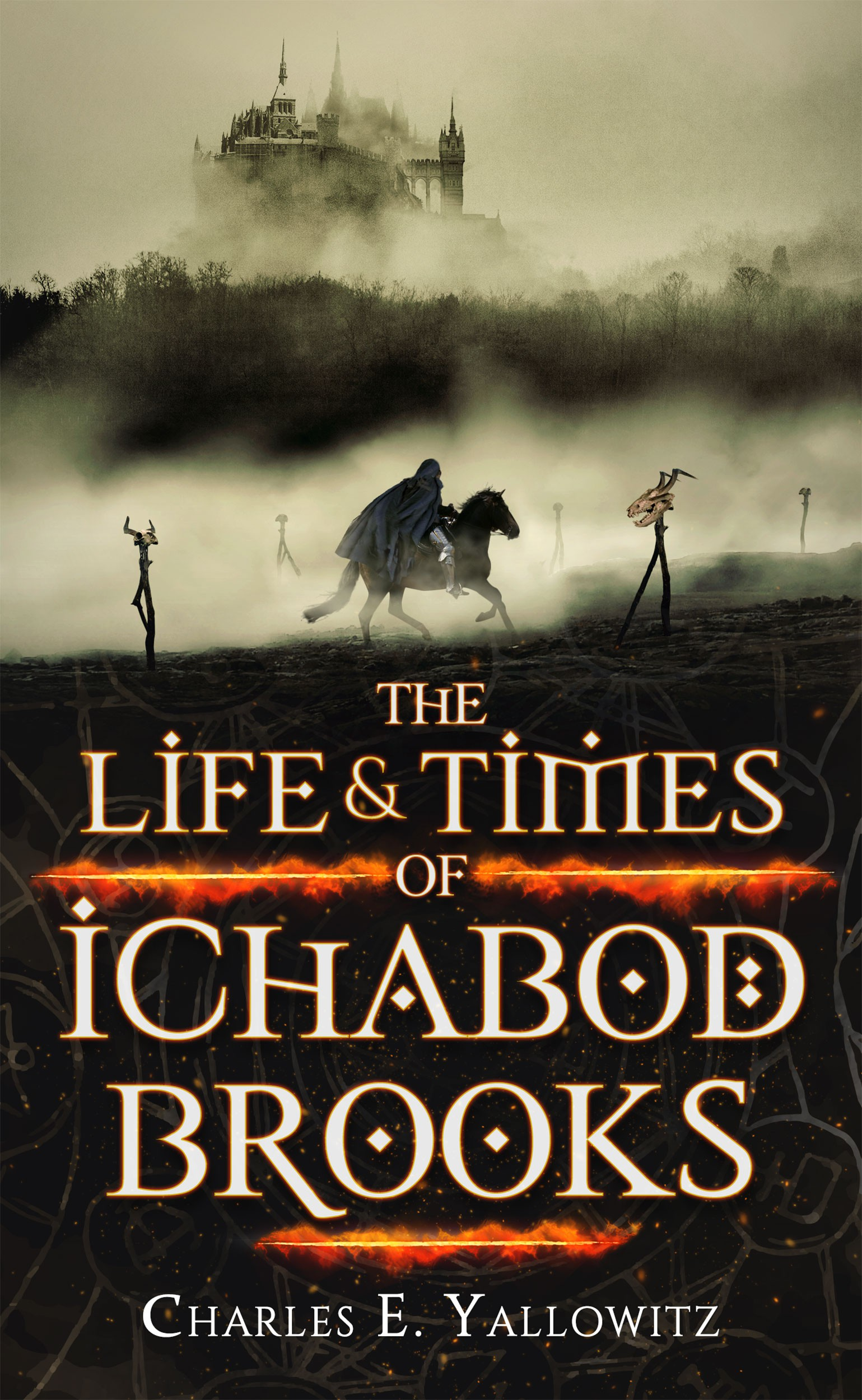 Create the eBook Cover for 'The Life & Times of Ichabod Brooks'!