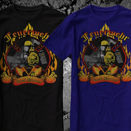 FIREFIGHTER T-Shirt ++++Design a new breathtaking FIREFIGHTER Shirt++++
