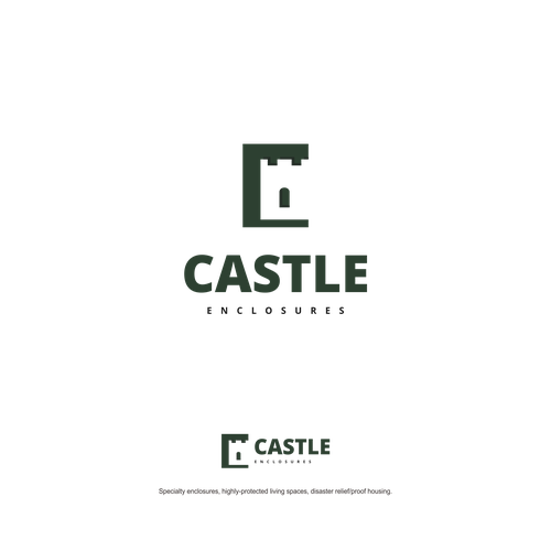 Negative space design for Castle co.