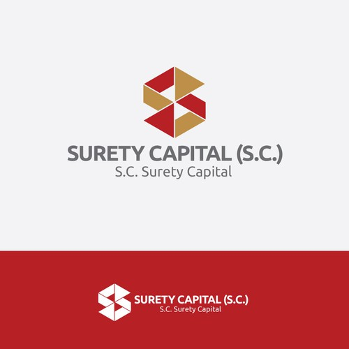 Create the next logo for Surety Capital (S.C.)
