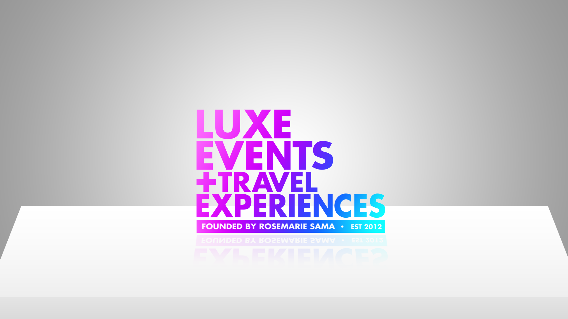 Help Luxe Events + Travel Experiences with a new logo