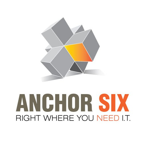 AnchorSix Logo that is less rectangular and will work better for Social Media Profile Images.