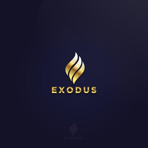 Exodus logo Design